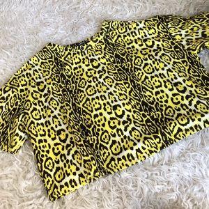 Leopard Croptop